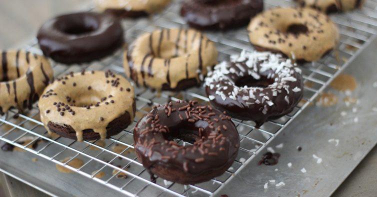 donuts saudáveis