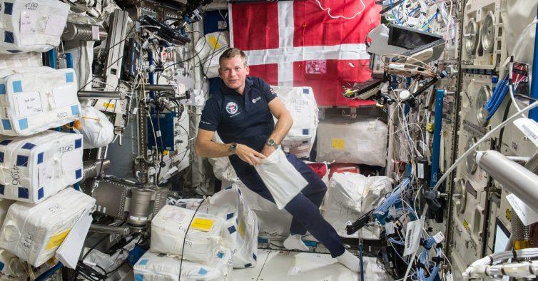 Um astronauta dinamarquês está em Lisboa e vai contar suas aventuras espaciais