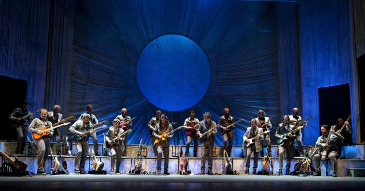 Estoril e Porto recebem uma orquestra só de guitarras elétricas