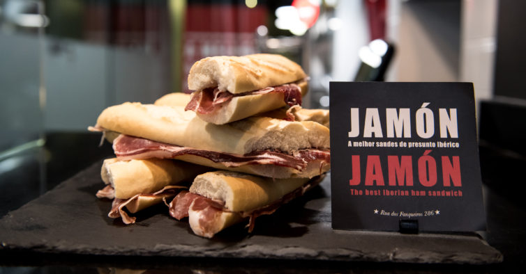 Jamón Jamón: o novo cantinho de Lisboa com sandes de presunto ibérico