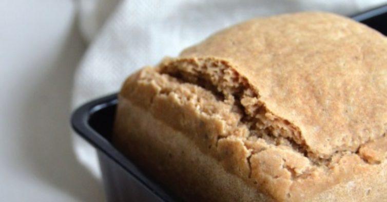 Pão de aveia e arroz