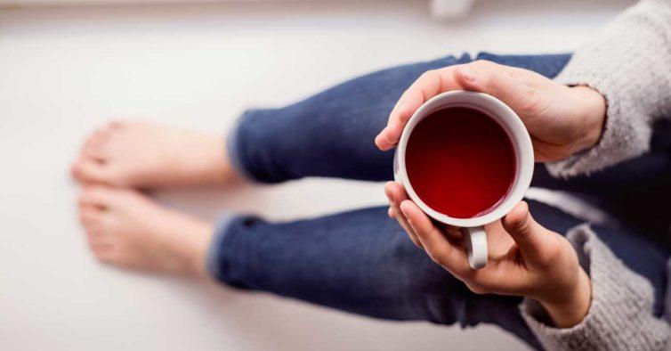 chá canela e gengibre