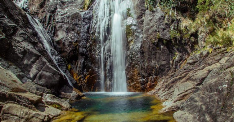 trilho das cascatas