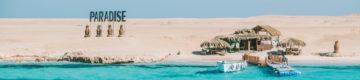 O paraíso existe: é uma ilha deserta no Egito (mas cheia de gente vaidosa)