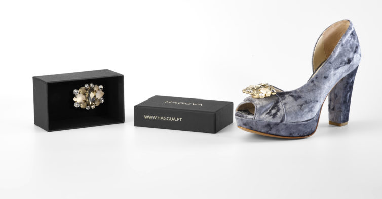 e2a3dd4dc Chegou a primeira marca de sapatos com joias — e é portuguesa