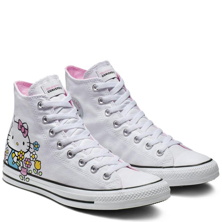 2932b457012 Sapatilhas Converse x Hello Kitty (75€) - NiT