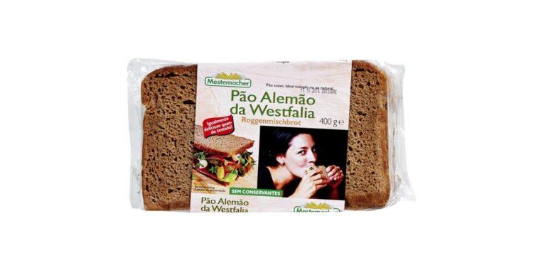 4. Pão alemão Westfalia, Mestemacher (2,19€)