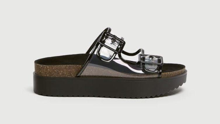 3f2d3c0b5 Para quem não prescinde de calçado confortável, estas sandálias são a  melhor opção.