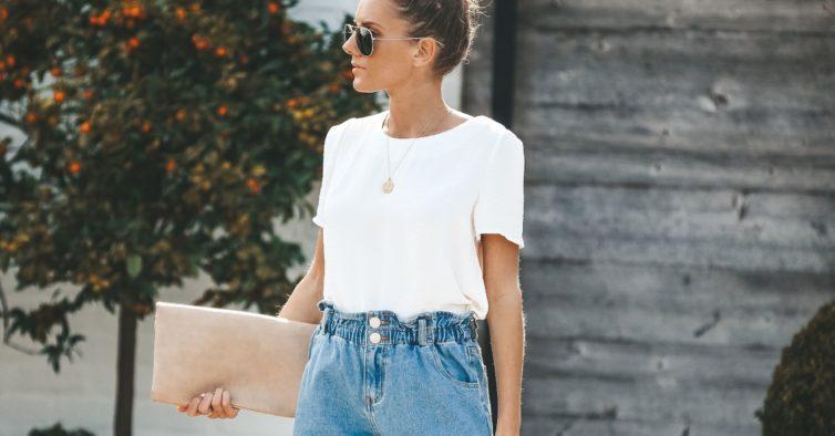 Como Usar Shorts Cintura Alta: Fotos, Looks, Modelos
