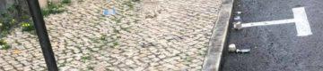 Caos em Lisboa: EMEL diz que lugares pagos em cima do passeio são provisórios