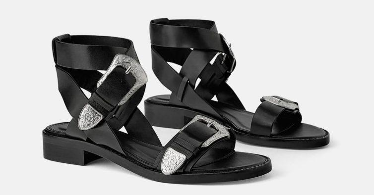 Sandálias com fivela (49,95€)