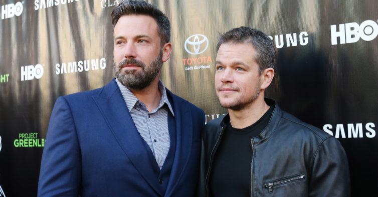 Novo filme de Ridley Scott junta Matt Damon e Ben Affleck