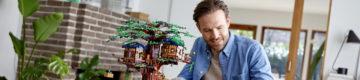 Na nova Casa da Árvore da LEGO, as peças são feitas de plantas