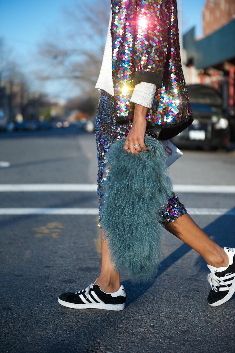 Se está em Nova Iorque, corra: há sapatilhas da Adidas à