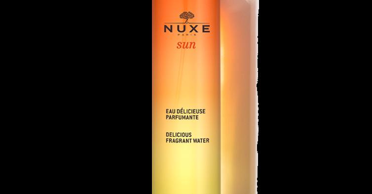Água perfumada Sun de Nuxe (20,30€)