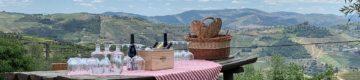 Este piquenique delicioso tem vista para o Douro