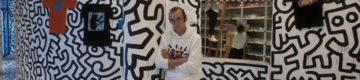 Obras de Keith Haring vão estar expostas no CascaiShopping e numa carruagem da CP