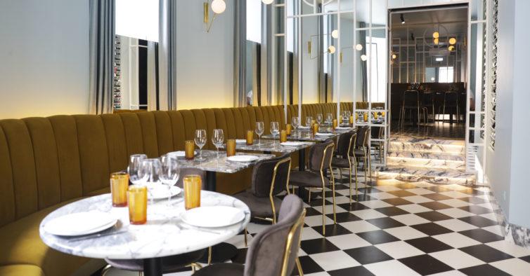 O novo restaurante cheio de estilo de Lisboa já foi uma drogaria