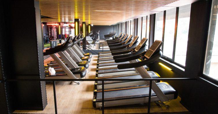 Abriu mais um ginásio Fitness Hut (e tem mais de mil metros quadrados)
