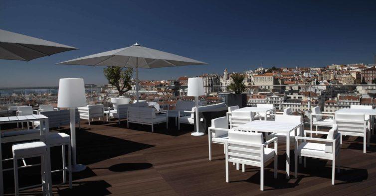Este rooftop em Lisboa vai receber uma incrível festa sunset gratuita