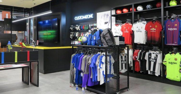 Os fanáticos por futebol vão perder-se nesta nova loja