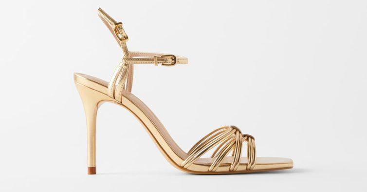 Sandálias da Zara (29,95€)