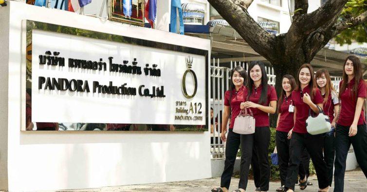 A fábrica fica na Tailândia