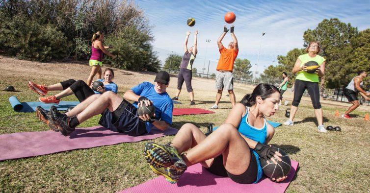 treinos outdoor