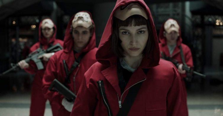 """""""La Casa de Papel"""" chega no início de 2020 e vai ter mais uma temporada"""