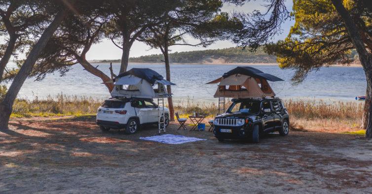 Ja Pode Alugar Jeeps Com Tendas No Tejadilho