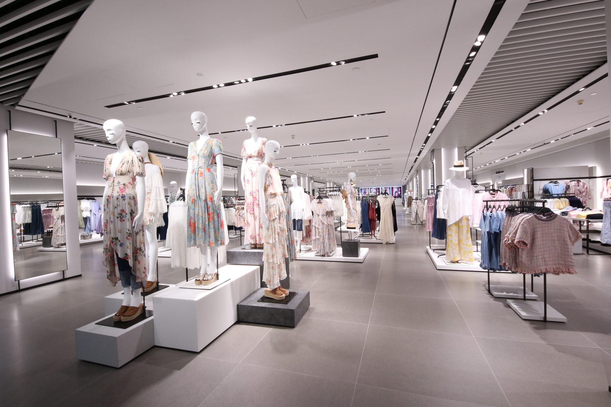 Há uma nova loja gigante da Zara em Portugal (com zona para