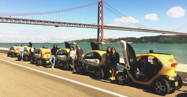 Estes passeios em carrinhos elétricos são o programa ideal para fazer em grupo