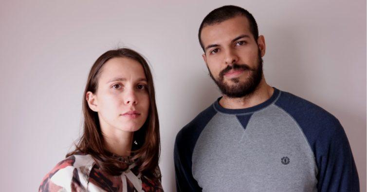 Fabio e Vicky: eles querem mostrar como é a vida em Portugal numa BD