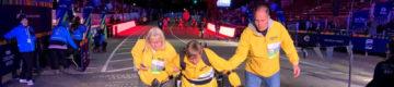 Tem 65 anos e paralisia mas conseguiu completar a maratona de Nova Iorque
