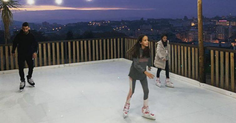 Braga vai ter uma pista de gelo ecológica com vista para a cidade