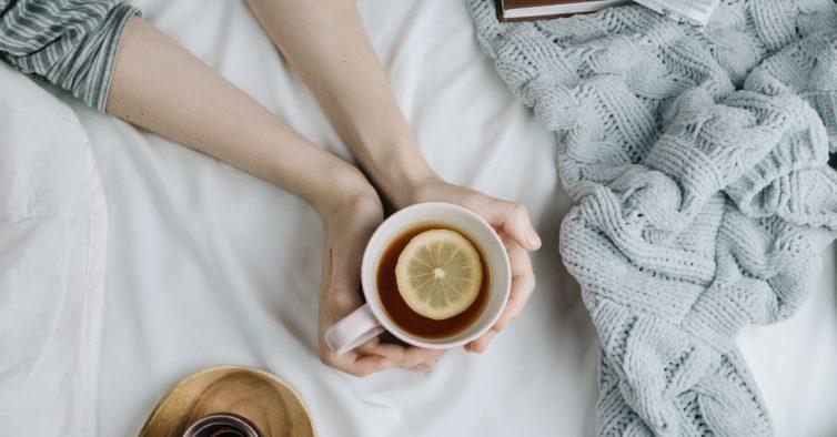 chá gripe