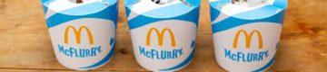McDonald's vai eliminar o plástico das tampas dos McFlurry (e das palhinhas)