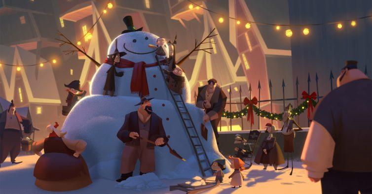 Netflix estreia na sexta primeiro filme original de animação — e é sobre o Natal