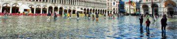 Veneza está outra vez inundada — e as imagens são impressionantes