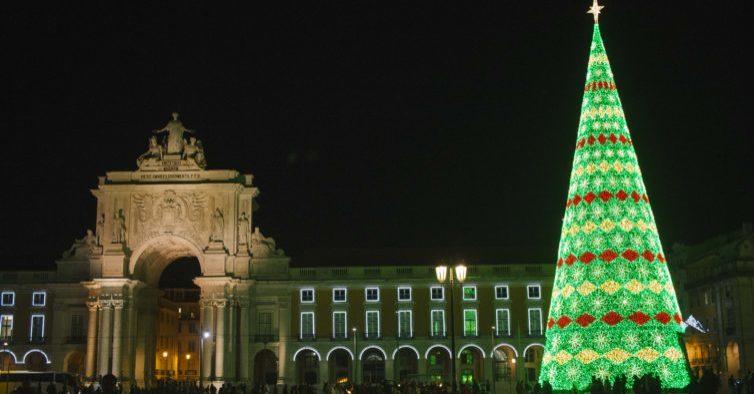 Já há data para a inauguração das luzes de Natal em Lisboa