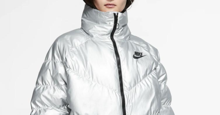 Casaco prateado, Nike (190€)