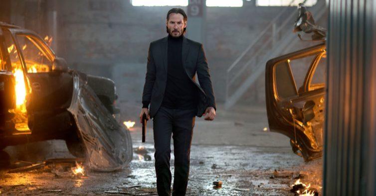 """Keanu Reeves em alta: """"Matrix 4"""" e """"John Wick 4"""" estreiam no mesmo dia"""