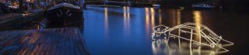 Nunca viu nada assim: o festival de luz nos canais de Amesterdão