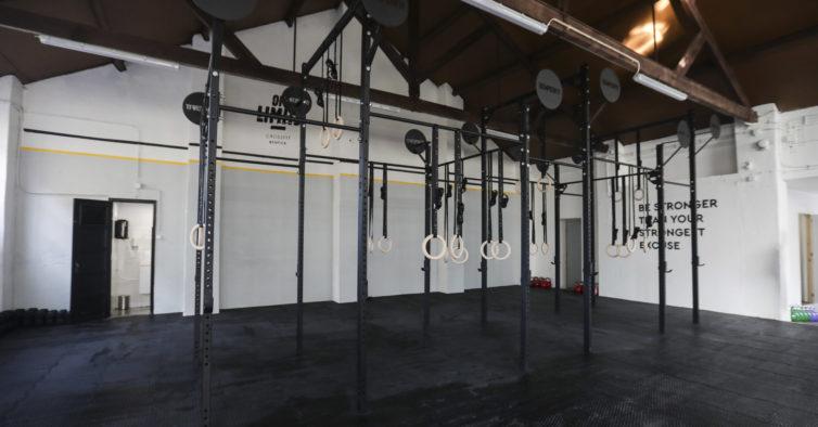 9. Off Limits CrossFit Benfica (Lisboa)