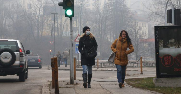 Sarajevo cancela todos os eventos públicos devido à poluição no ar
