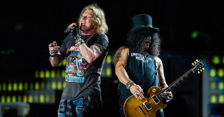 Guns n' Roses regressam a Portugal em 2020 para um concerto a solo