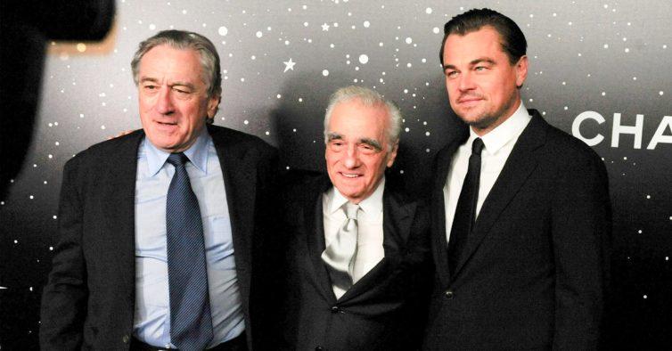 DiCaprio e Robert De Niro são os protagonistas do novo filme de Martin Scorsese