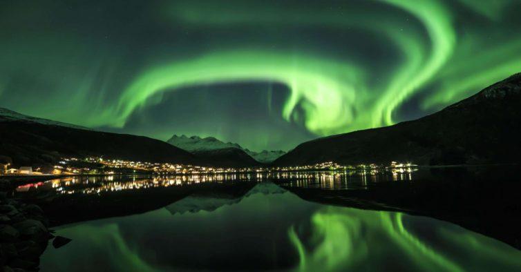 Vídeo amador capta um tipo de aurora boreal nunca antes visto