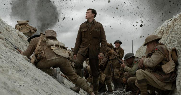 """""""1917"""" é a obra-prima do ano — e tem mesmo de ser visto no cinema"""
