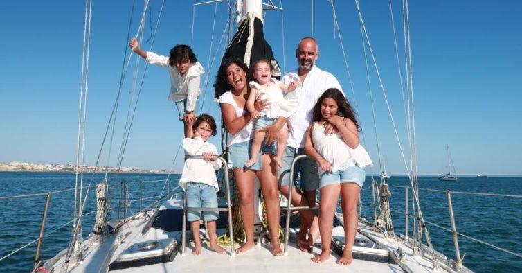 Esta família vai largar tudo para viajar pelo mundo num veleiro